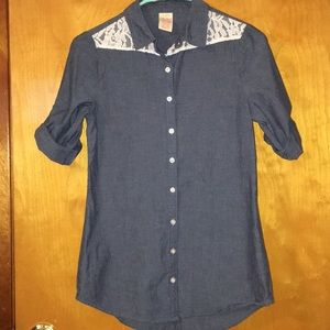 Faded glory buttoned down shirt
